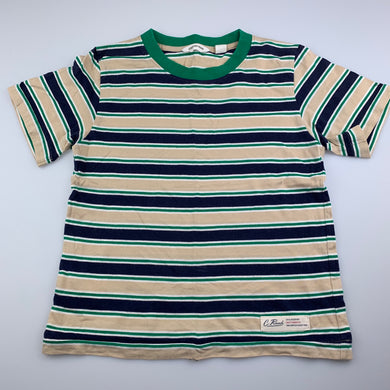Boys Country Road, striped soft cotton t-shirt / top, GUC, size 6