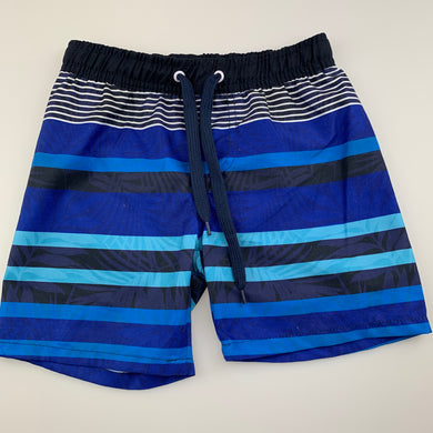 Boys Pumpkin Patch, lined swim / board shorts, elasticated, EUC, size 2