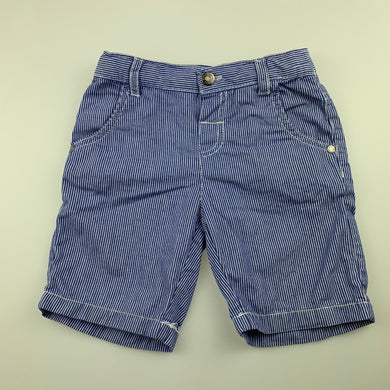 Boys Sprout, lightweight cotton shorts, adjustable, EUC, size 2
