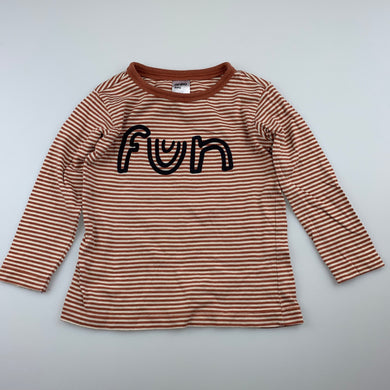 Unisex Anko Baby, cotton long sleeve t-shirt / top, GUC, size 1