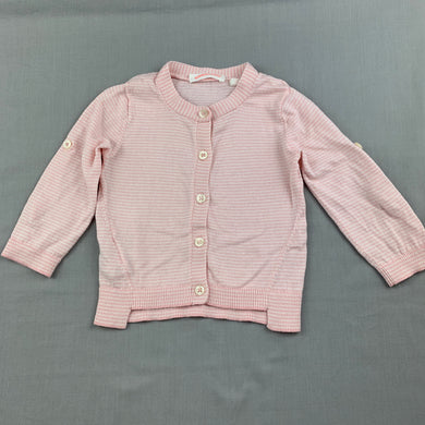 Girls Country Road, lightweight cotton knit cardigan, GUC, size 0