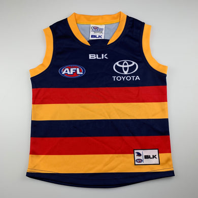 Unisex AFL On Field, Team Gear Adelaide Crows Guernsey / top, EUC, size 8