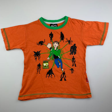 Boys Cartoon Network, Ben 10 cotton t-shirt / top, GUC, size 5