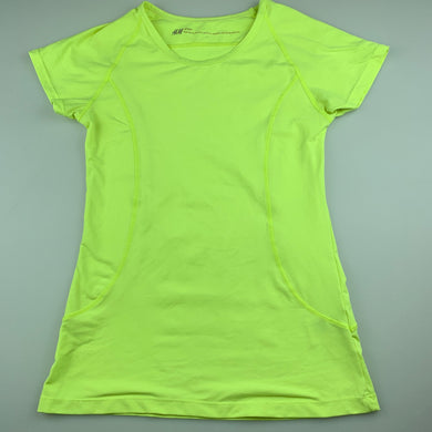 Girls H&M, sport soft feel stretchy activewear top, GUC, size 11-12