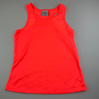 Girls Elite Action Sports, bright lightweight activewear top, GUC, size 12,