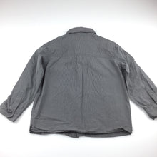 Load image into Gallery viewer, Boys Stix n stones, grey cotton long sleeve shirt, GUC, size 4