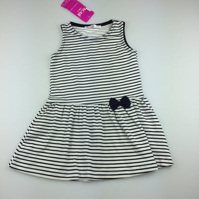 Girls ACAR girls, soft stretchy stripe party dress, NEW, size 2-3