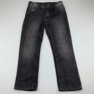 Boys Emerson, dark denim jeans, adjustable, Inside leg: 47cm, GUC, size 5,