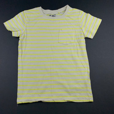 Boys Cotton On, striped cotton t-shirt / top, GUC, size 5,
