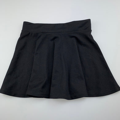 Girls Anko, back soft feel skirt, elasticated, L: 33cm, EUC, size 12,