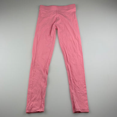 Girls B Collection, pink stretchy leggings, GUC, size 7,