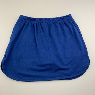Girls Brilliant Basics, blue sports / netball skirt, built-in shorts, GUC, size 14,