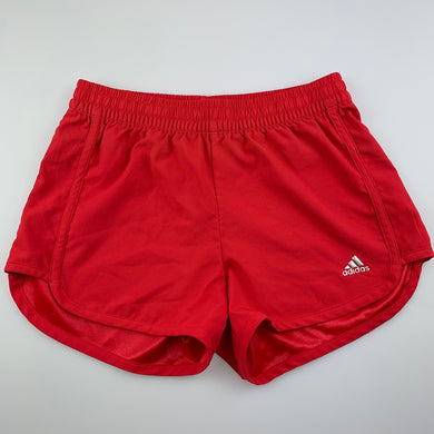 Girls Adidas, Climalite sports, activewear shorts, elasticated, GUC, size 9-10,