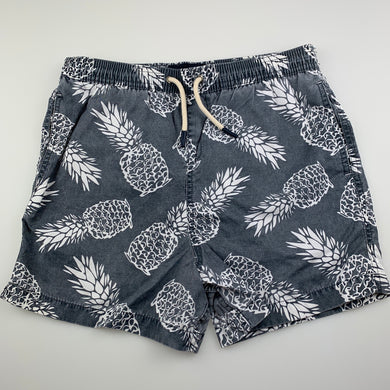 Boys The Academy Brand, lightweight board shorts, elasticated, pineapples, FUC, size 14,