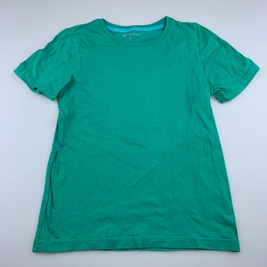 unisex B Collection, green cotton t-shirt / top, FUC, size 7,