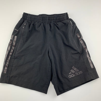Boys Adidas, Climalite lined sports, activewear shorts, GUC, size 9-10,