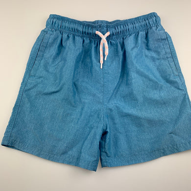 Boys Anko, blue lightweight board shorts, elasticated, GUC, size 10,
