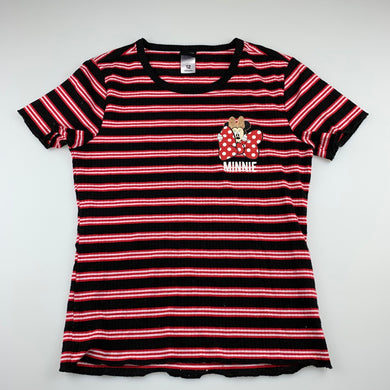 Girls Disney, Minnie Mouse stretchy t-shirt top, FUC, size 12,