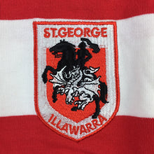 Load image into Gallery viewer, Boys NRL Supporter, St George Dragons thick cotton jersey / top, EUC, size 12