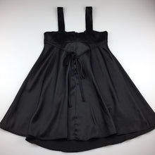 Load image into Gallery viewer, Girls Jesse, black floaty formal / party dress, GUC, size 8