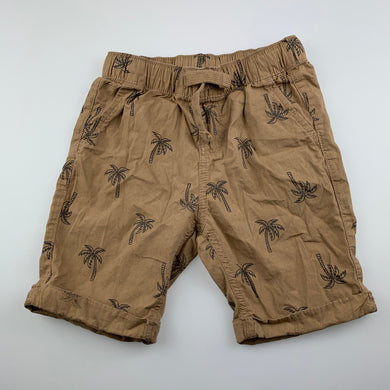 Boys Anko, lightweight cotton shorts, elasticated, GUC, size 4,