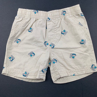 Boys Babies R Us, lightweight cotton shorts, elasticated, EUC, size 00,