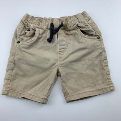 Boys 1964 Denim Co, stretch cotton shorts, elasticated, FUC, size 2,