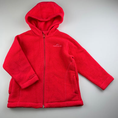 Girls Kathmandu, Altica 200 zip up fleece jacket, FUC, size 2,