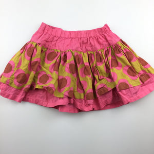 Girls Next, lightweight cotton skirt, adjustable, GUC, size 0