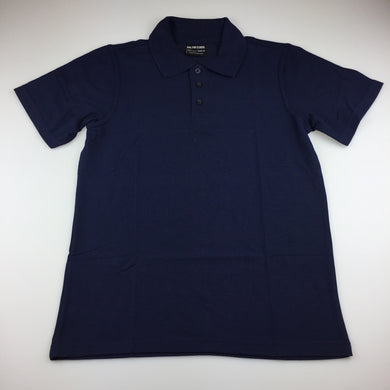 Unisex B&L for School, navy school polo shirt / tee, EUC, size 12