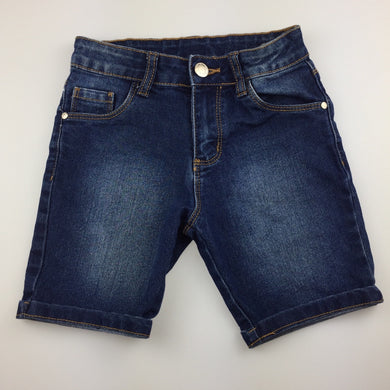 Girls B Collection, stretch denim jean shorts, adjustable, GUC, size 6