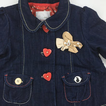 Load image into Gallery viewer, Girls Next, cotton lined denim jacket, EUC, size 1