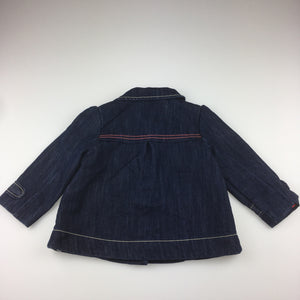 Girls Next, cotton lined denim jacket, EUC, size 1