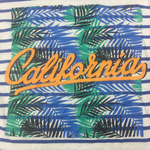 Load image into Gallery viewer, Boys Cotton On, striped cotton t-shirt / tee, California, GUC, size 7
