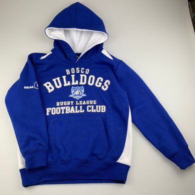 Boys Aussie Pacific, Bosco Bulldogs hoode sweater, GUC, size 6