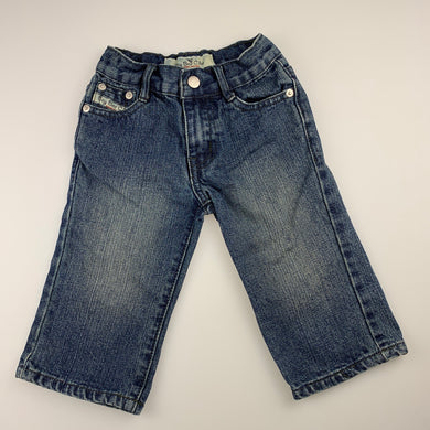 Boys Bay Bee Cino, dark denim jeans, adjustable, Inside leg: 24cm, GUC, size 2