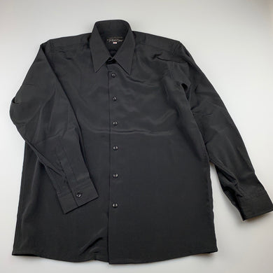 Boys Phillips of Melbourne, black formal / wedding shirt, Collar: 14 inches, Chest: 96cm, Inside arm: 43cm, never worn, EUC, size 16