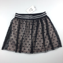 Load image into Gallery viewer, Girls Bardot Junior, black tulle star print party skirt, NEW, size 6