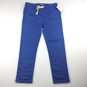 Girls Osh Kosh, blue stretch jeggings / jean leggings, elasticated, NEW, size 6