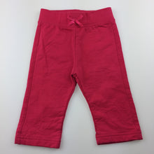 Load image into Gallery viewer, Girls Target, thick cotton pants. Elasticated, EUC, size 00