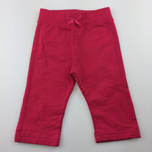 Girls Target, thick cotton pants. Elasticated, EUC, size 00