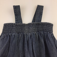 Load image into Gallery viewer, Girls Fred Bare, sleeveless denim dress, GUC, size 00