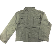 Load image into Gallery viewer, Boys Cotton On Kids, khaki jacket / coat, zip & popper fastening, EUC, size 7