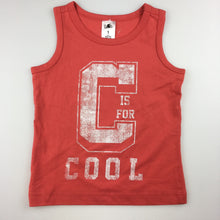 Load image into Gallery viewer, Boys H&T, cotton tank top / t-shirt, Cool, EUC, size 1