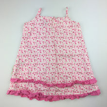 Load image into Gallery viewer, Girls Mini Molly, cotton floral summer party dress, EUC, size 0