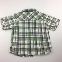 Load image into Gallery viewer, Boys Mother Care, 100% cotton check short sleeve shirt, GUC, size 2
