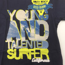 Load image into Gallery viewer, Boys M&S, t-shirt / tee, young & talented surfer, GUC, size 3