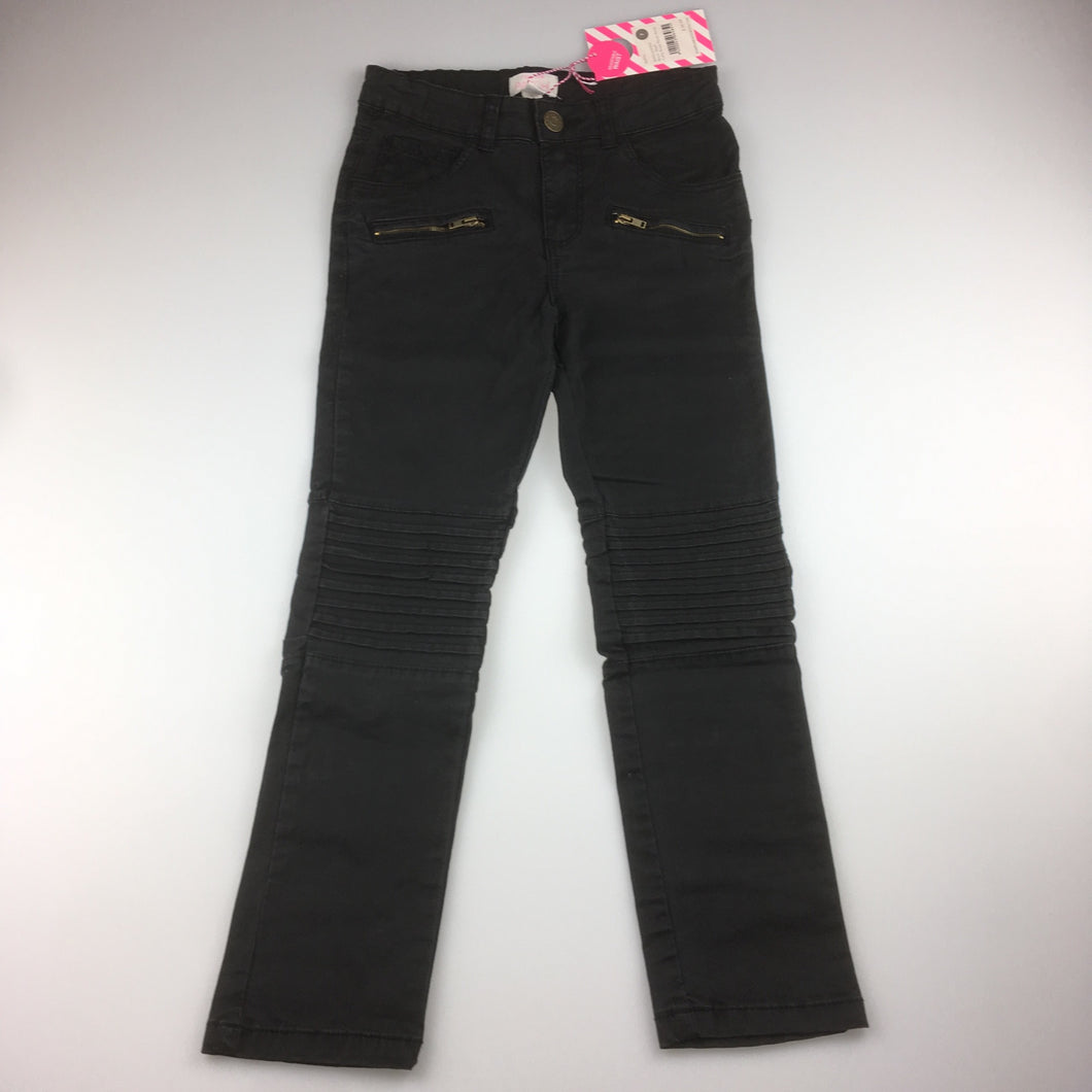 Girls Pumpkin Patch, stretch jeans with adjustable waist, NEW, size 7