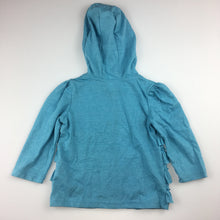 Load image into Gallery viewer, Girls H+T, lightweight hooded long sleeve t-shirt, GUC, size 1