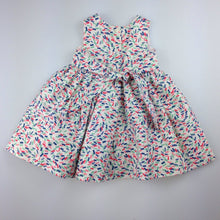 Load image into Gallery viewer, Girls John Lewis, lined summer / party dress, GUC, size 00